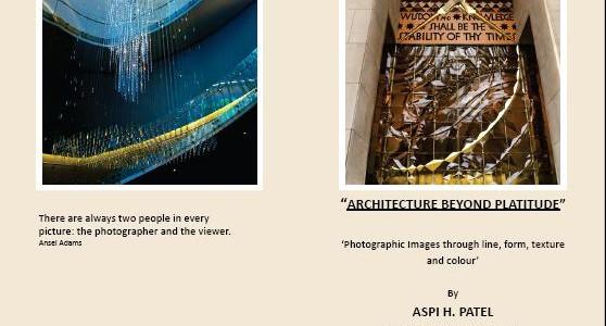 'Architecture Beyond Platitude' Exhibition