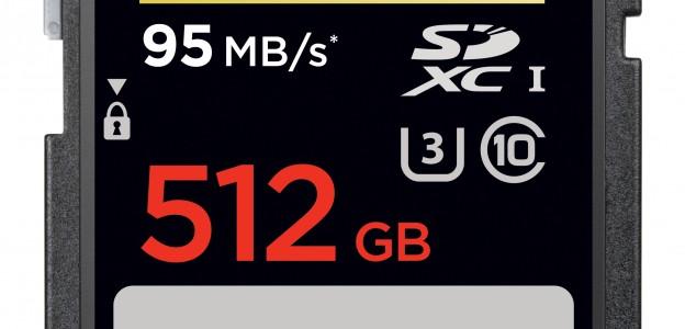 SanDisk Extreme PRO SDXC UHS-I  512 GB card