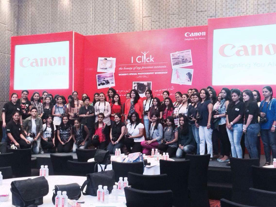 Canon India organises workshop for women