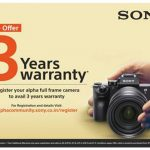 Sony India Announces Additional Warranty on Cameras