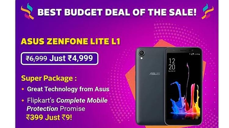 Flipkart Big Shopping Days Sale: Offers on Asus ZenFone