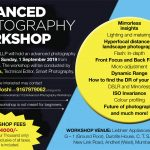 Advanced Photography Workshop in September