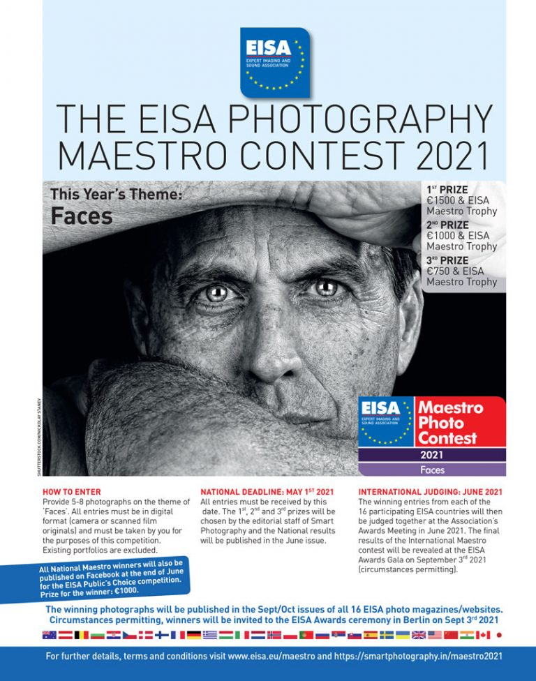 Participate in EISA Maestro photography contest 2021